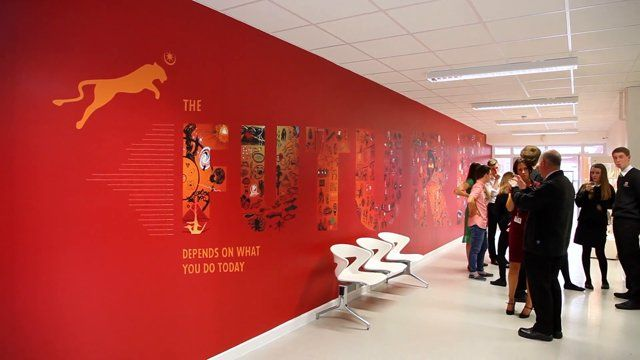 Springfield School FUTURE wall by Toop Studio. Film about the project.