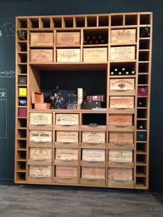 Cuisine Art et Bois | Agencement de cuisine à Genève | Cellier, Cave à vin