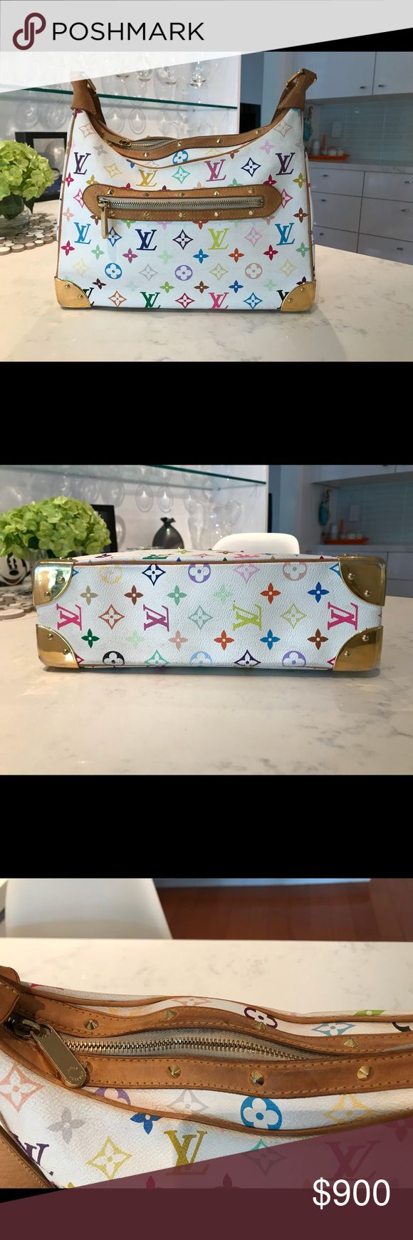 Louis Vuitton Murakami Multicolor Purse. Authentic 100% authentic Louis Vuitton multicolor bag. Purchased in New Orleans in 2006. Good Pre-own condition. Louis Vuitton Bags Laptop Bags