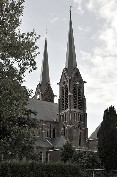 St. Jan, from the northwest side, Kaatsheuvel, North-Brabant, The Netherlands.