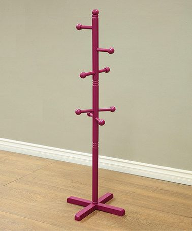 Another great find on #zulily! Purple Coat Rack #zulilyfinds