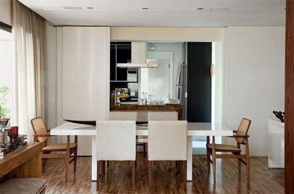 wandschrank küche esszimmer abtrennung schiebetür Home decor - küche mit esszimmer