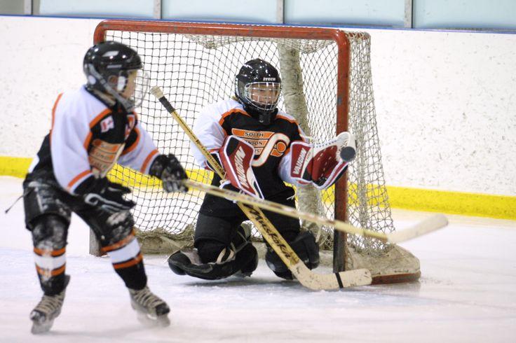 South London Minor Hockey Female Pee Wee goalie