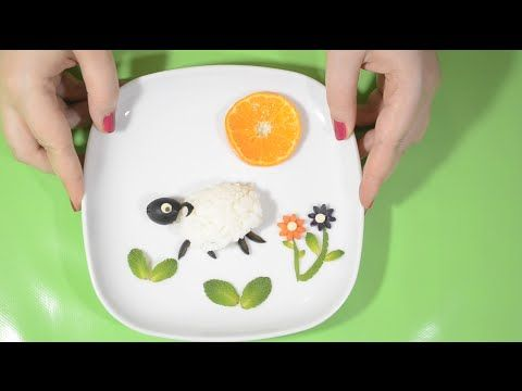 Pour dessiner un mouton, on a pas besoin de crayon. On a juste besoin d'un peu de riz et d'imagination. #foodart #yearofthesheep