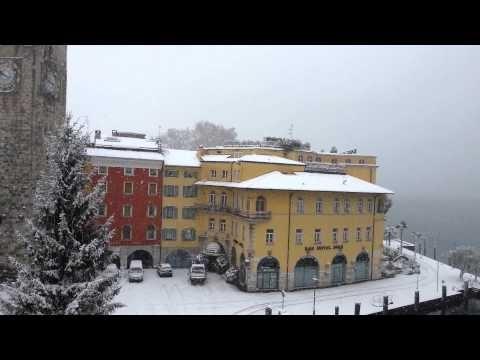 Neve a Riva del Garda, dicembre 2012