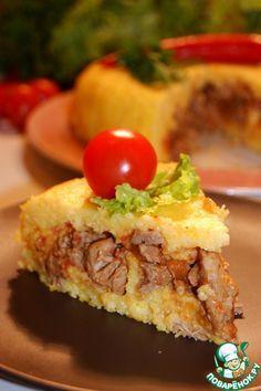 Фаршированная полента - кулинарный рецепт
