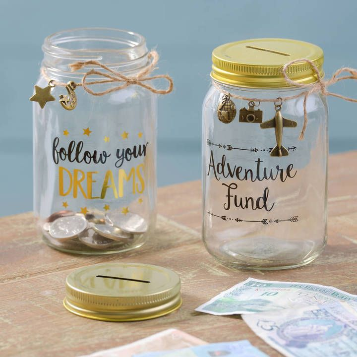 Gift Ideas Money Box Ideas Wedding Gift Ideas Engagement Gift Ideas Money Jar Penny Jars Letteroom Glass Money Boxes Money Box Diy Savings Jar Money Saving Jar
