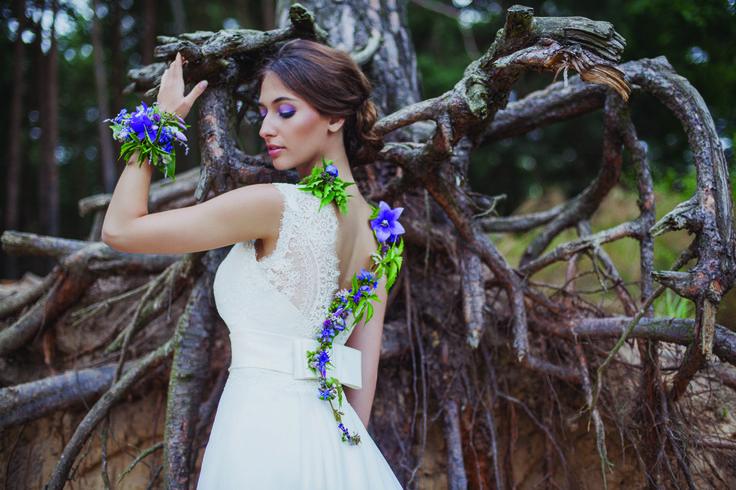 INNA Studio_ natural session / naturalna panna młoda / fot. Kamila Piech Photography