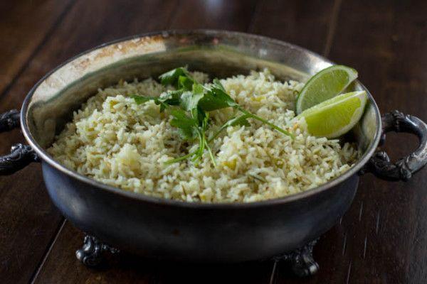 Cilantro Lime Rice-Cafe Rio Copycat - Oh Sweet Basil