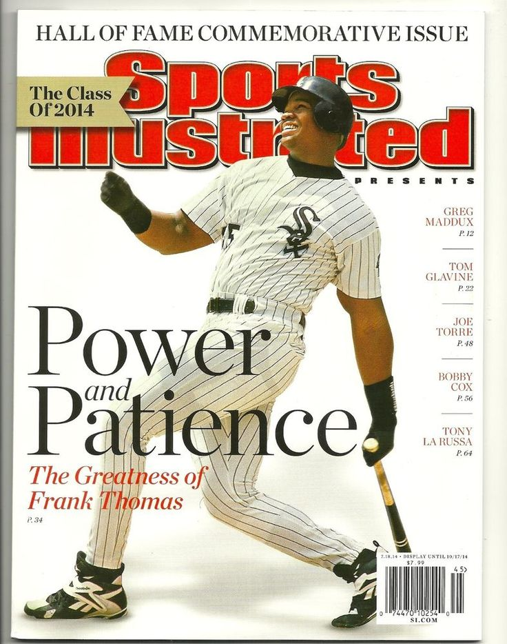 SOLD OUT 2014 Sports Illustrated FRANK THOMAS