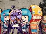 Bad-A graffiti downtown
