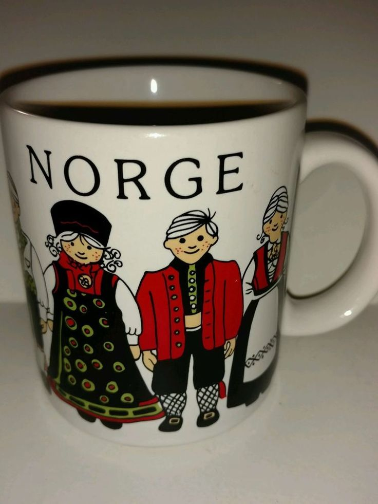 Leif Thesen A.S. Norge Collectible Coffee Mug Norway