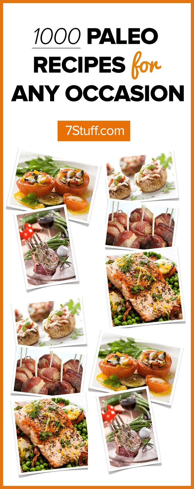 1000 delicious and super healthy Paleo recipes for every occasion