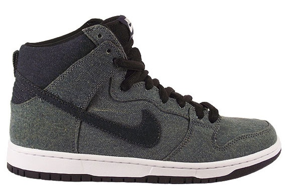 NIKE SB DUNK HIGH PREMIUM 'Denim' Midnight Navy/Obsidian