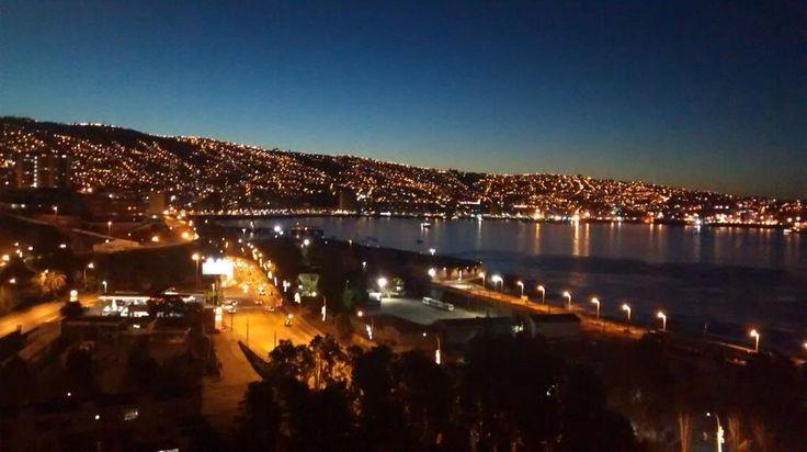 Atardecer en Valparaiso