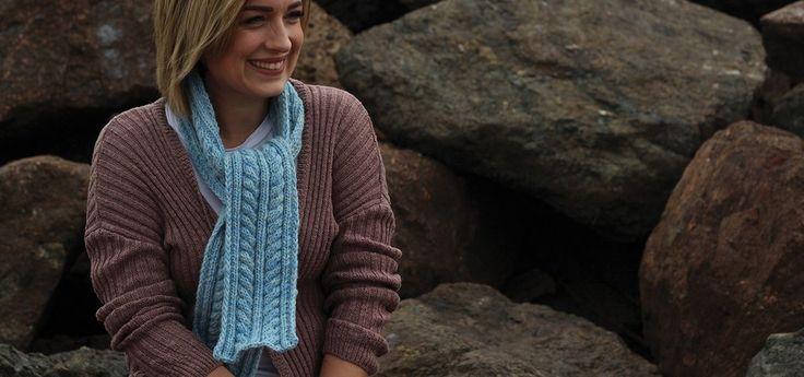 Yuletide Scarf                      – Fleece & Harmony PEI