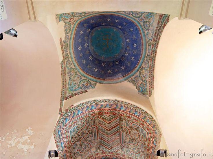Casarano (Lecce, Italy) - Decorations inside the Church of Santa Maria della Croce