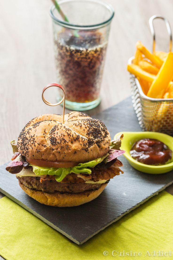 French burger au Veau