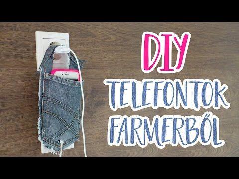 DIY Telefontok Farmerből - INSPIRACIOK.HU | Csorba Anita - YouTube