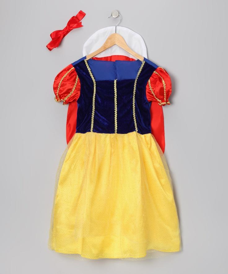 Rubie's Yellow Snow White Costume - Toddler & Girls