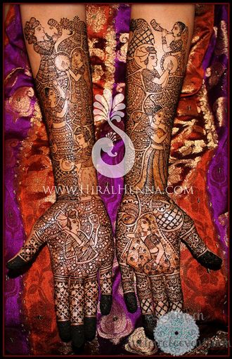 I HEART Detroit! weddings – Detroit Bridal Mehendi Artists