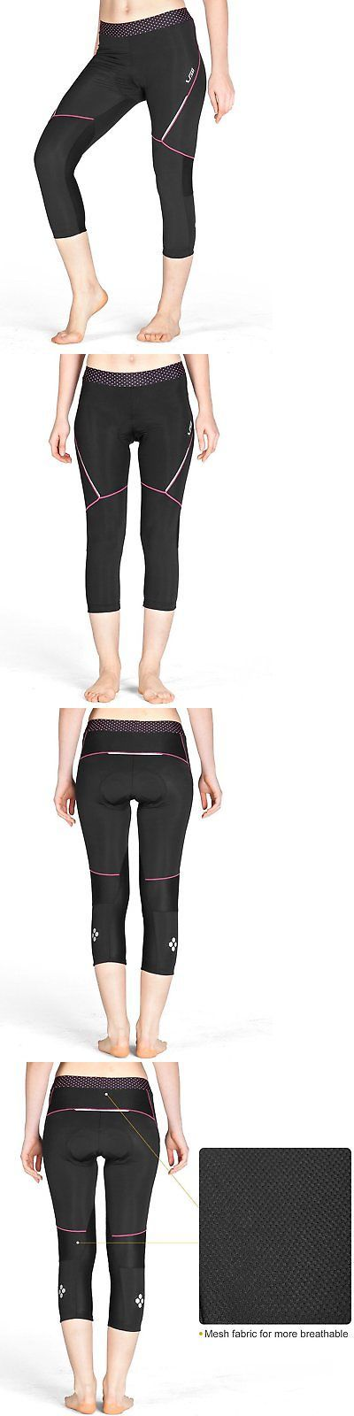 Tights and Pants 177854: Lameda Womens Capri Leggings Compression Tights Gel Padded Dot Large -> BUY IT NOW ONLY: $33.46 on eBay!