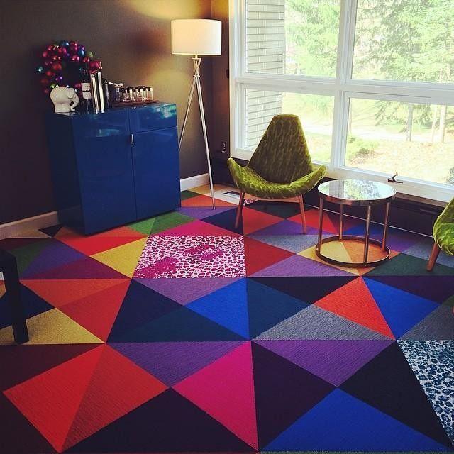 51 Best Funky Floors Images On Pinterest Carpet Tiles