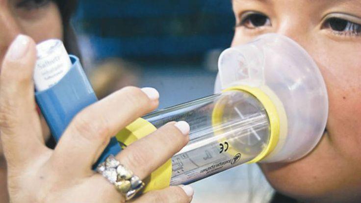 Los síntomas del asma suelen ser confundidos con los de la gripe