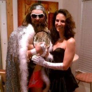 Macho Man and Miss Elizabeth   22 Amazing Professional Wrestling Halloween Costumes