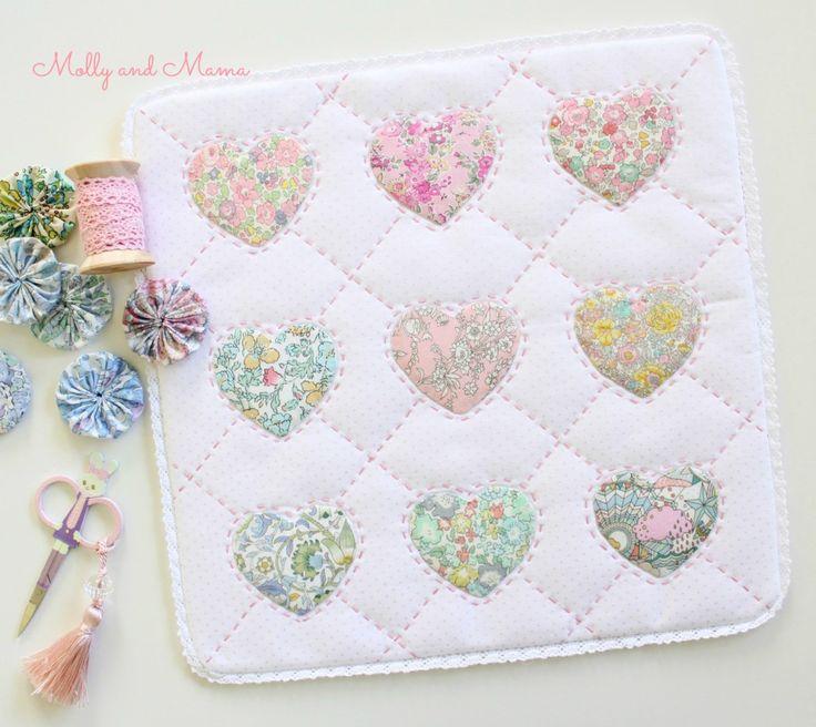 265 besten Quilts klein,kleiner,am kleinsten Bilder auf Pinterest ...