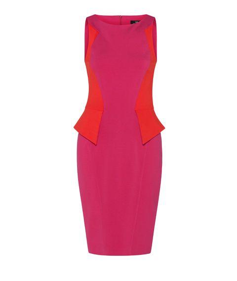Peplum dress h&m uk clothes fashion