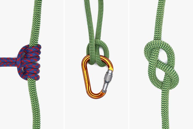 Before you head out to your local crag, make sure you know three of the most important knots for rock climbers.