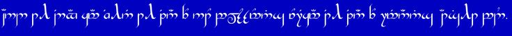 Hobbit Rune Generator: Old English Runes, Angerthas, Tengwar - generates only the letters of what you type
