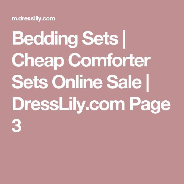 Bedding Sets | Cheap Comforter Sets Online Sale | DressLily.com Page 3