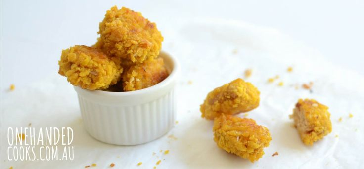 Chicken and Cannellini Bean Nuggets - One Handed Cooks