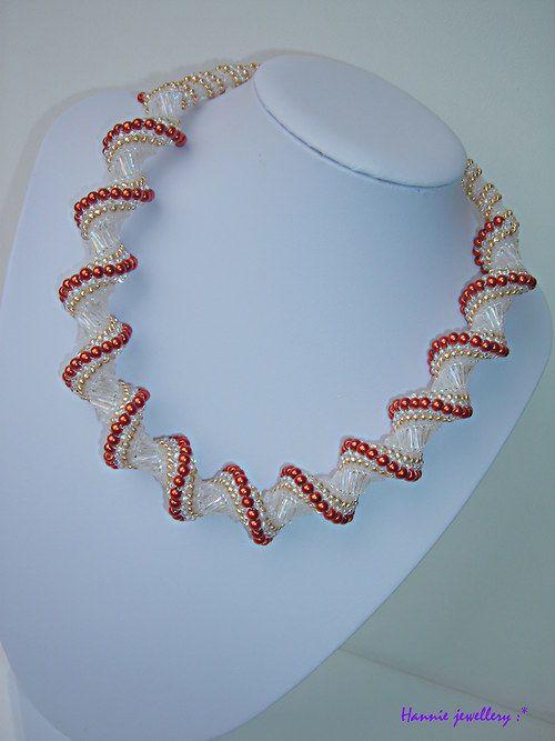 topazová cellinka... Beading jewelery from Hannie jewellery :) Cheb, Czech republic http://hanniejewellery.cz/