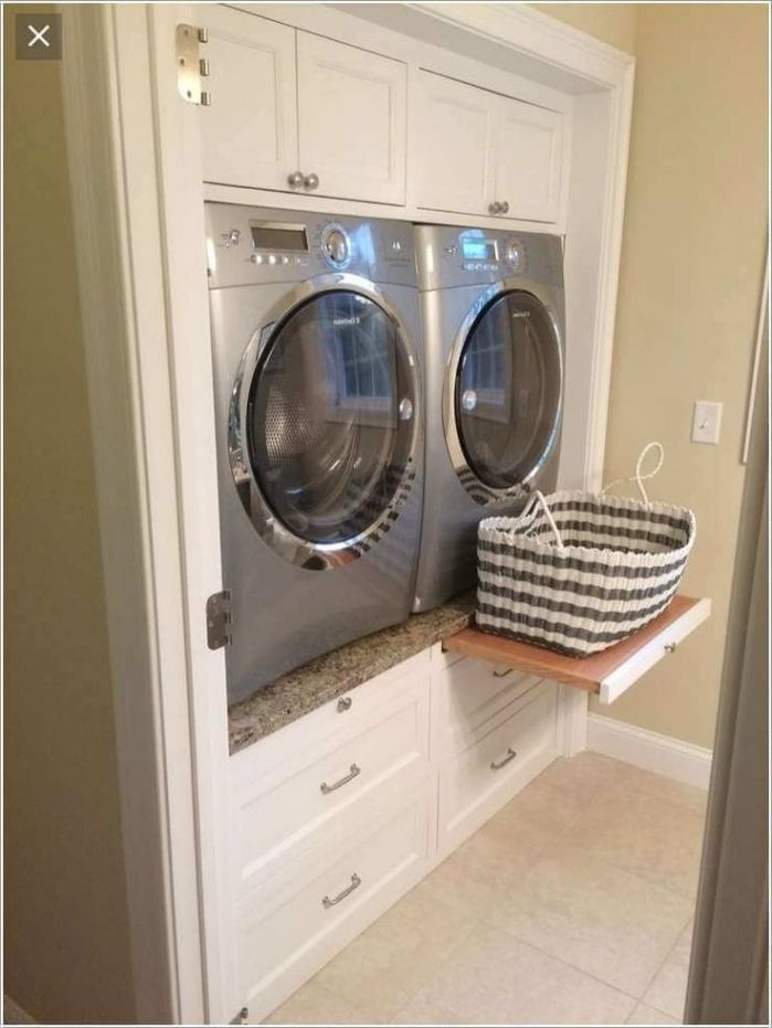 Build Washer Dryer Pedestal With Drawers Design 17 Best Ideas About Laundry Room Pedestal On Pi Tiny Laundry Rooms Laundry Room Pedestal Laundry Room Makeover