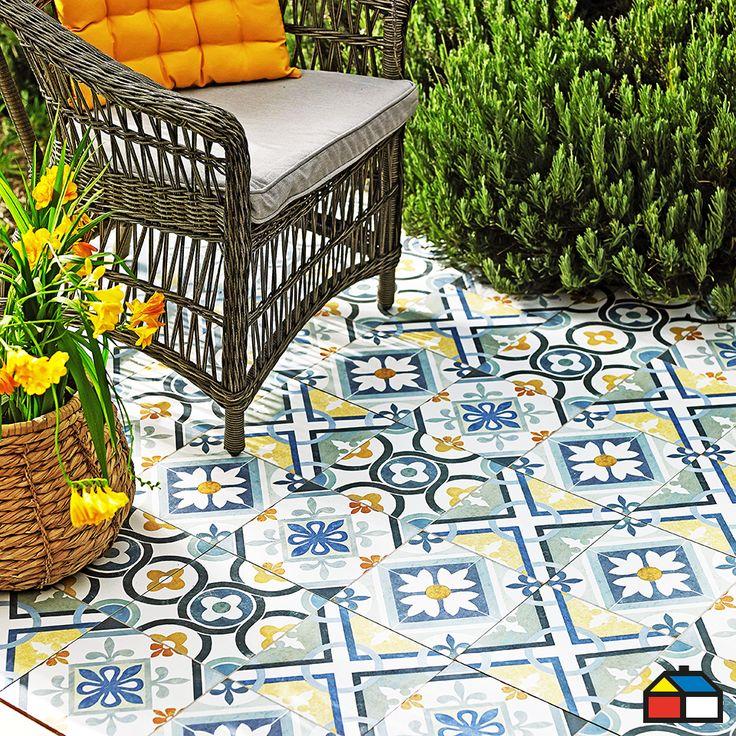 Ceramica pisos terraza camionazo ideas para la for Ceramicas para pisos exteriores precios