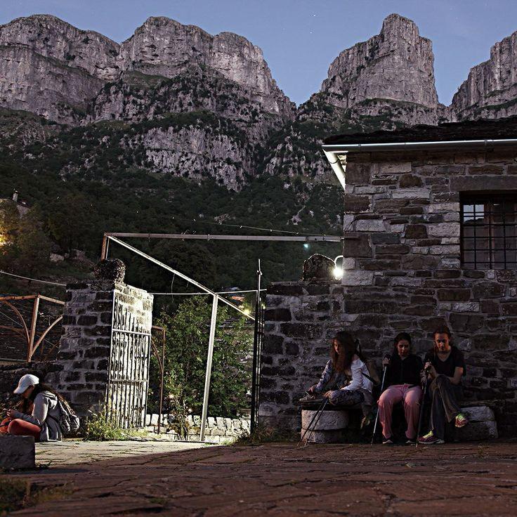 Mikro Papigko Epirus Greece. After returning from Drakolimni. #zagori