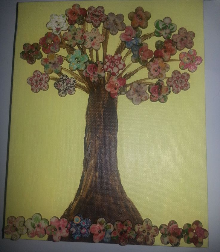 Button Tree made 17/1/2015