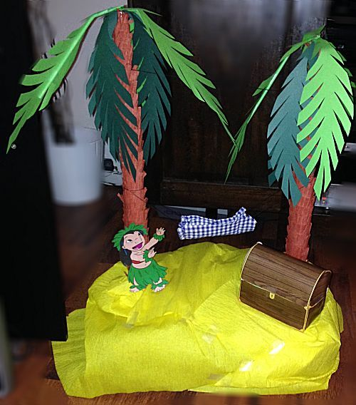 Sinterklaas surprise met de titel: Eiland met schat Leuke surprise om te maken voor iemand die gek is op expeditie Robinson
