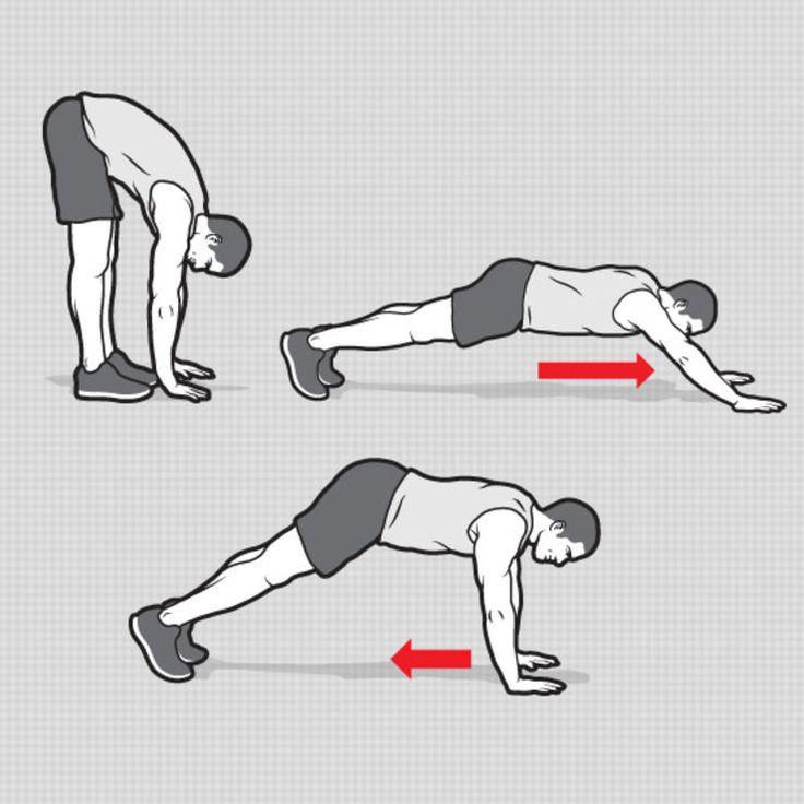 Hand Walkout http://www.menshealth.com/fitness/road-warrior-workout/hand-walkout