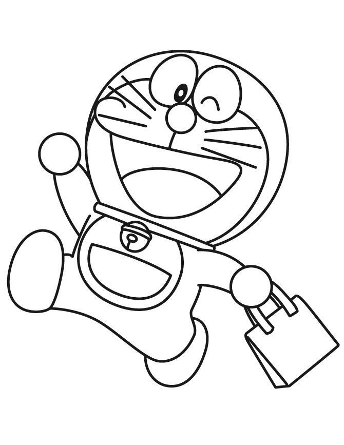 11 Best Doraemon Coloring Book Images On Pinterest