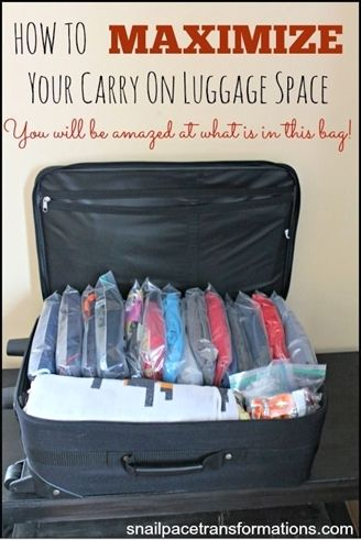 I Cannot Believe How Much Stuff Is In This One Carry On Bag If You Are Going To Be Ng For A Vacation Soon Have Read Cruisetips