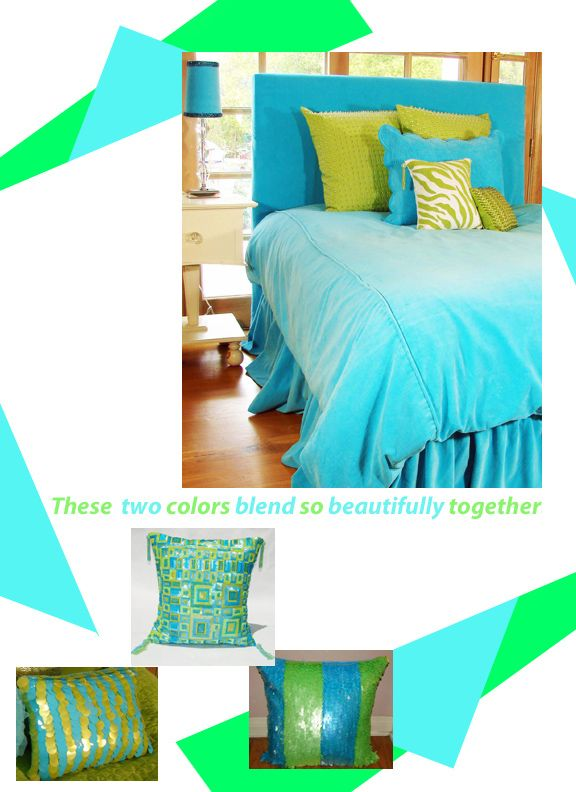 Lime green and turquoise teen girl bedrooms sweet and for Lime green and turquoise bedroom