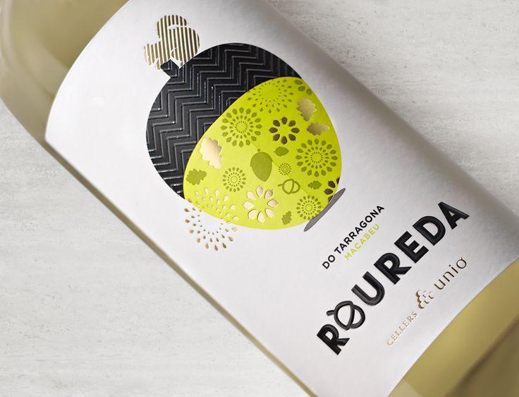 GROW. Roureda Blanc.  Bosc de roures. Colors vius, per mostrar la fruita i expressivitat dels vins joves. www.grow-tdc.com