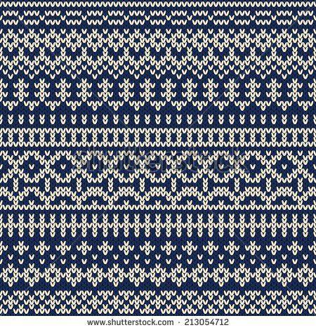 102 best Strikkeborder images on Pinterest   Knitting charts, Fair ...