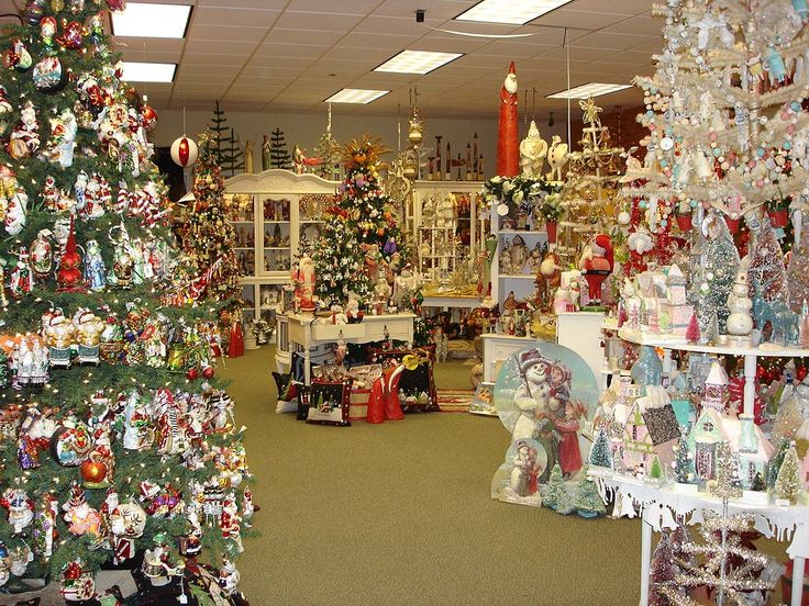 Great Vintage Christmas Store Display Great Ideas
