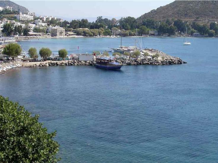 Boat harbour in Akyarlar.