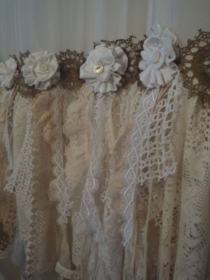 95 Best Shabby Chic Window Valances And Curtains Images On